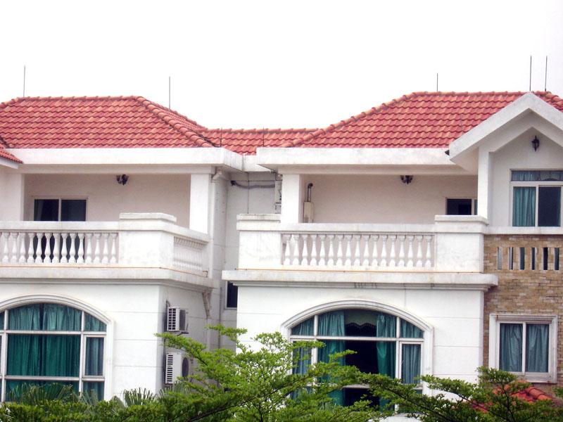 别墅屋顶西瓦施工图